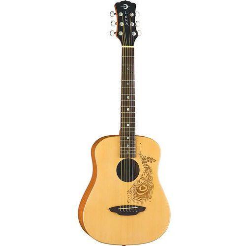 Luna Safari Henna gitara akustyczna 3/4
