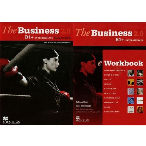 The business B1+ intermediate Student's book + CD + eWorkbook 2.0 (9780230437890)
