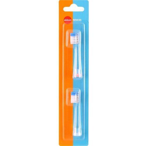 Końcówka szczoteczki ELDOM SDK50 (2 sztuki)