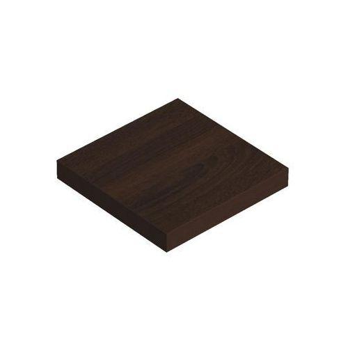 Domax Półka samowisząca wenge 23,5x23,5 cm velano