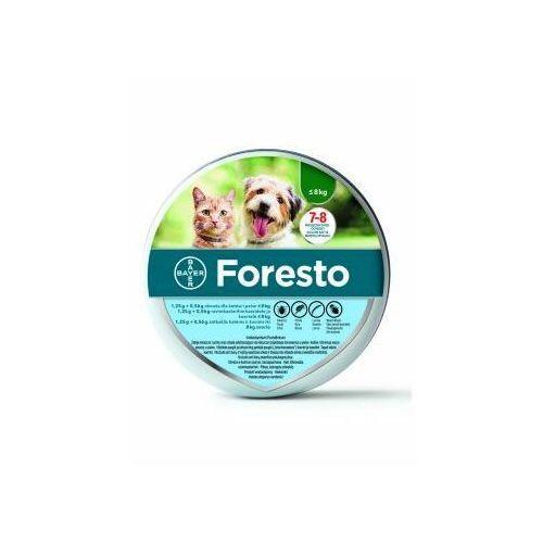 Bayer Foresto Obroża dla Psa i Kota do 8 kg (5909990908387)