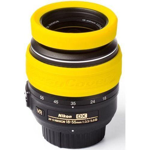 Easycover  osłona na obiektyw dla 62 mm żółta