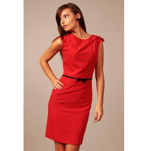Sukienka estera czerwony marki Vera fashion