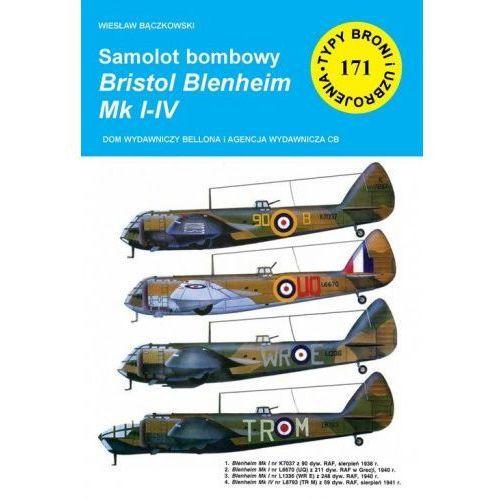 Samolot bombowy Bristol Blenheim Mk I-IV - Wiesław Bączkowski, oprawa miękka