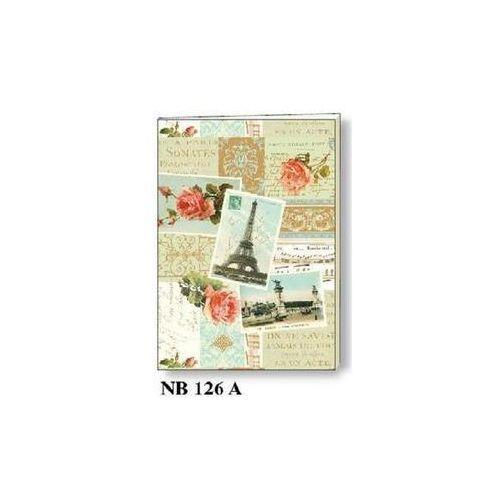 Rossi Notatnik ozdobny a5 64 kartki br nb 126a