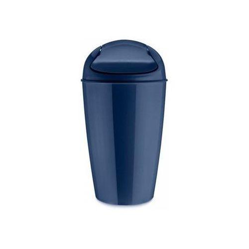 Kosz na śmieci Del M welwetowy błękit