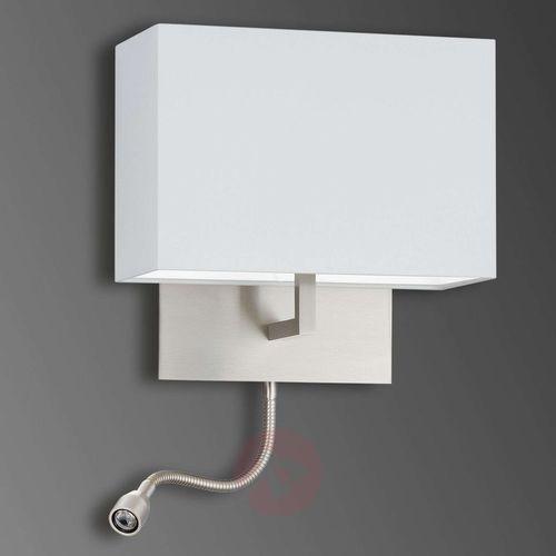 Knapstein lampa ścienna nikiel matowy, 2-punktowe - nowoczesny - obszar wewnętrzny - knapstein - czas dostawy: od 8-12 dni roboczych (4250035817968)