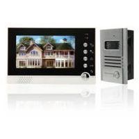 """Wideodomofon Secutek VDP313 + CAM201 - 7"""" LCD; noktowizor"""