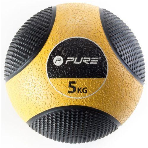 Piłka lekarska pure 2 improve p2i110030 czarno-żólty + darmowy transport! marki Pure2improve