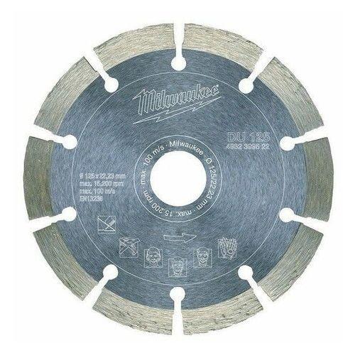 MILWAUKEE TARCZA DIAMENTOWA SEGMENTOWA DU 125 x 22,2mm, ME4932399522 (2441232)
