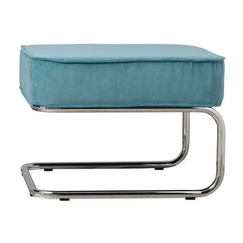 Zuiver stołek/podnóżek ridge rib niebieski 3300004