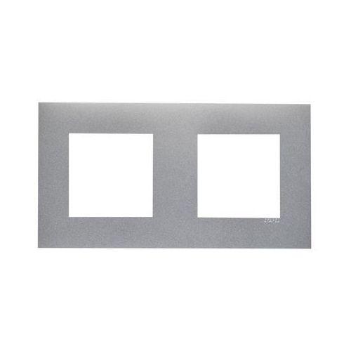 Ramka podwójna Aluminium EFAPEL (5603011623791)