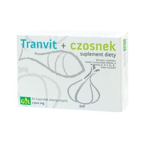 Kapsułki Tranvit + Czosnek 80 kaps.