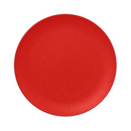 Talerz płaski Nano Ember czerwony RAK NEOFUSION
