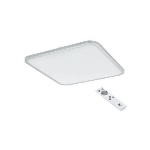 Eglo cogoleto 98258 plafon lampa sufitowa oprawa 1x30w led biała/srebrna (9002759982584)