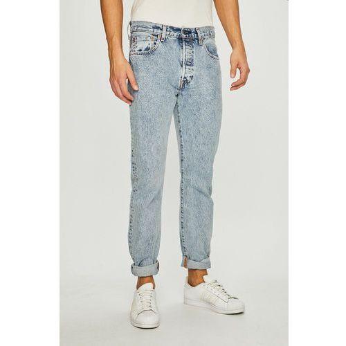 - jeansy 501 marki Levi's