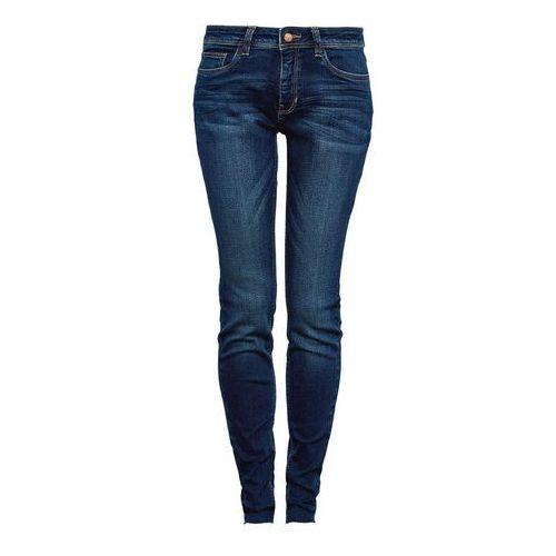 Q/S designed by SUPER LEG Jeans Skinny Fit dark blue denim/heavy, kolor niebieski