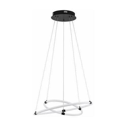 Eglo banderillas 39839 lampa wisząca zwis 36w led czarna/biała (9002759398392)