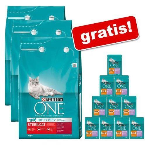 9 kg + purina one sensitive, saszetki, 12 x 85 g gratis! - sensitive   odbierz teraz 10% rabatu  -5% rabat dla nowych klientów  dostawa gratis + promocje marki Purina one