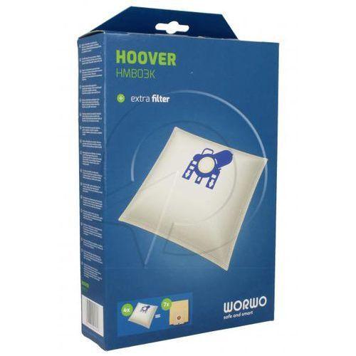HMB03K Worki Perfect Bag (4szt.) + filtr wlotowy (1szt.) do odkurzacza (5901362005816)