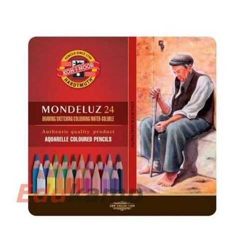 Koh-i-noor Kredki mondeluz 24 kolory portret