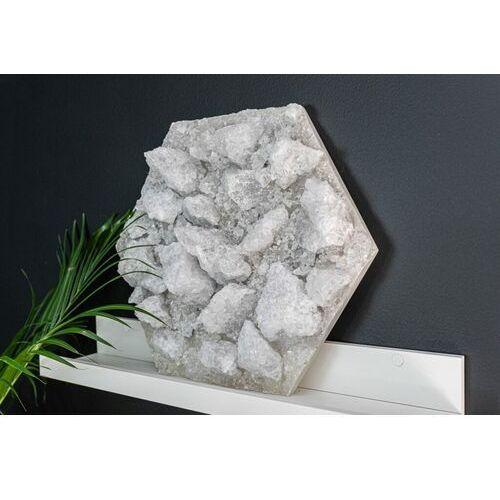 Panel solny biały sześciokąt 5 kg