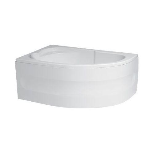 Polimat  standard obudowa wanny asymetrycznej 130x85cm, uniwersalna 00344