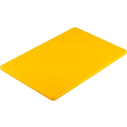 Deska z polietylenu haccp żółta marki Stalgast