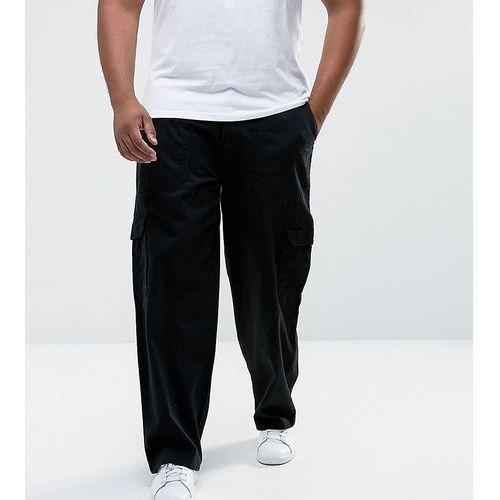 Duke King Size Cargo Trouser In Black - Black