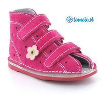 Adamki  profilaktyczne buty wzór 013nk, kolor fuksja