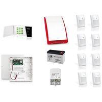 Zestaw alarmowy  micra bezprzewodowy powiadomienie sms na 8 czujek mpd-300 marki Satel