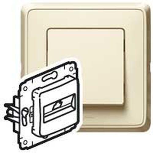Legrand cariva gniazdo telefoniczne pojedyncze 1xrj11 krem 773738