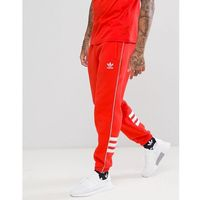 Adidas originals authentic joggers in red dh3859 - red