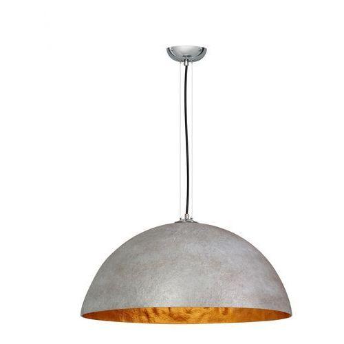 Lampa wisząca loft szara złota mezzo tondo marki Eth