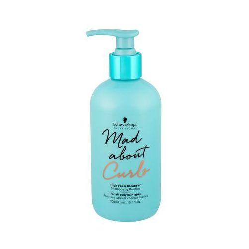 Schwarzkopf mad about curls high foam cleanser szampon do włosów 300 ml dla kobiet