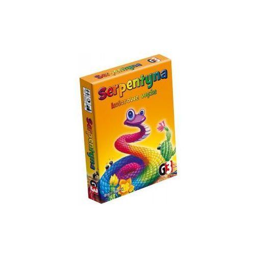 OKAZJA - G3 Serpentyna: kolorowe węże. gra planszowa