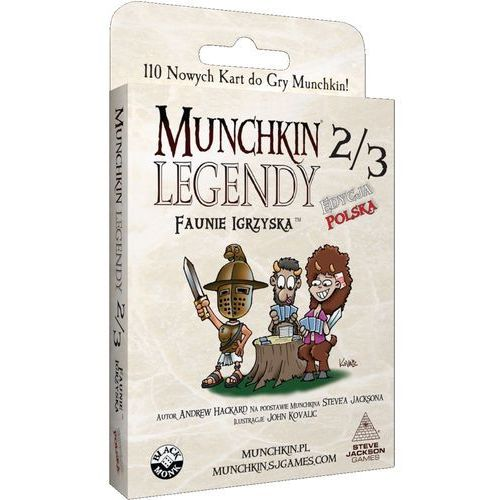 Black monk Munchkin legendy 2/3 [jackson steve]