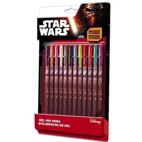 Euroswan Zestaw 12 kolorowych długopisów żelowych Star Wars (SWE7020) Darmowy odbiór w 21 miastach!, SWE7020