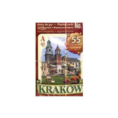 Kraków/karty do gry/nr 1/brązowe/pojedyncza talia/