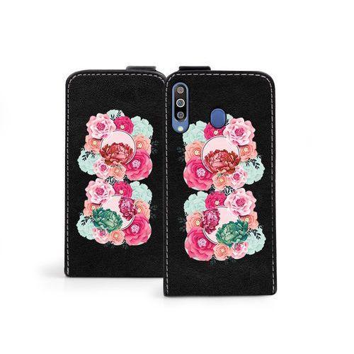 Samsung Galaxy M30 - etui na telefon Flip Fantastic- róże