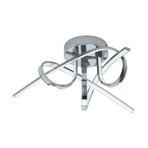Eglo Plafon selvina 96307 lampa oprawa sufitowa 3x8w led chrom/biały
