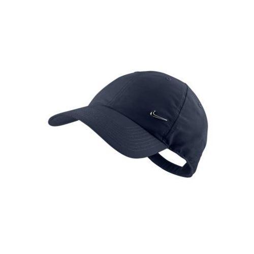 CZAPKA HERITAGE SWOOSH CAP, kolor niebieski