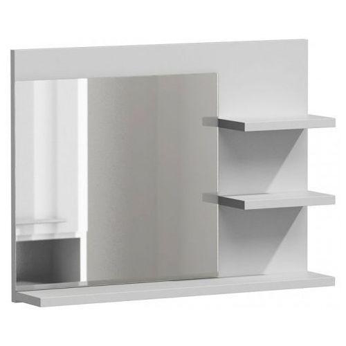 Lustro łazienkowe Caro 3X - biały połysk