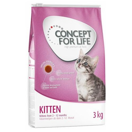 Dwupak - kitten (2 x 3 kg) marki Concept for life