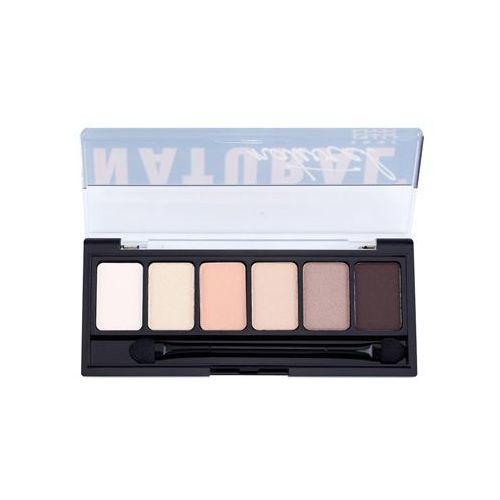 the natural paleta cieni do powiek z aplikatorem 6 x 1 g marki Nyx professional makeup