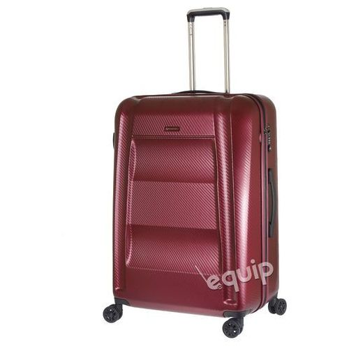 Walizka duża Puccini New York PC017 - wiśniowy z kategorii Torby i walizki