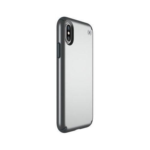 Etui SPECK Presidio Metallic do Apple iPhone X Szary (0848709048578)