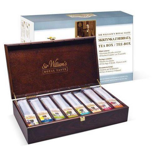 OKAZJA - Skrzynka z herbatą Sir Williams Royal Taste, 125