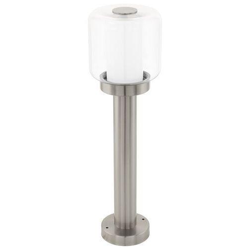 Słupek ogrodowy lampa stojąca Eglo Poliento 1x40W E27 srebrny 95018, kolor Srebrny