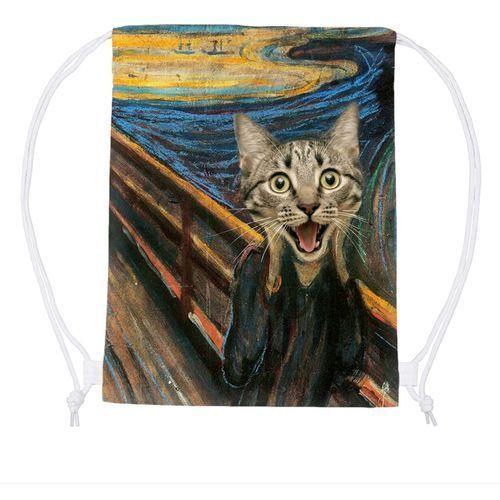 Worek Cat Scream Paint